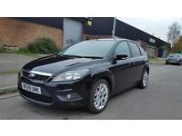 2009 Ford Focus zetec 1.8 5 door hatchback full service history