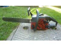 Jonsered husqvarna chainsaw