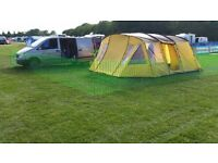 Skandika Norland 6 Tent with sewn in groundsheet . As new