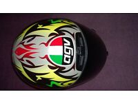 Agv Q3 Size 55 small with daytime use only visor vgc