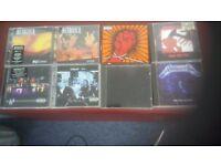 metallica cds