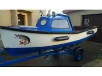 14 ft fishing boat 30hp suzuki outboard