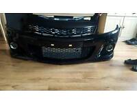 Astra vxr rep new abs grill bumper and fogs