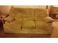 Sofa's x 2 [ 3 seater & 2 seater ] Oakmeal Colour
