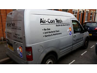 Mobile Air Conditioning Service and Repair, regas, recharge, air con.