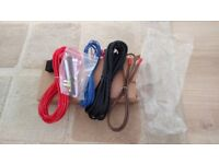 full subwoofer and amp wiring kit NEW