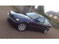 2002 BMW 3 SERIES E46 318i SE 2.0L PETROL AUTOMATIC 4DR SALOON MOT JULY 17 HPI CLEAR FULL LEATHER