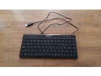 Keyboard in black