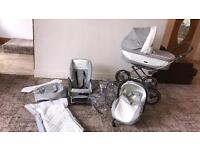 Baby Style pram silver cross Style