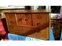 Shabby chic sideboard project solid wood