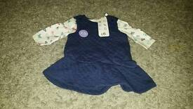 Baby girls clothes new and used newborn to up to one month perfect condition