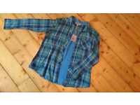 Fat Face checked shirt, size 18, never worn