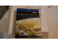 PLANET EARTH THE COMPLETE SERIES-BLU-RAY-AS NEW CONDITION
