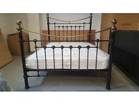 CHEAPEST ONLINE Brand New Julian Bowen Victoria Double Bed & Semi Orthopaedic Mattress Can/Del £260