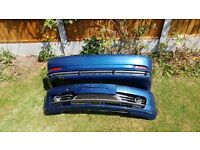 BMW E46 Coupe Sport Front & Rear Bumpers - Topaz Blue