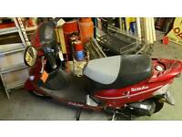 Brand new 50cc scooter