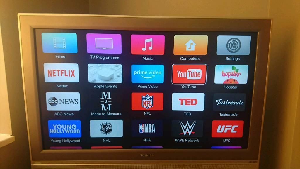 Toshiba Flat Screen Tv With Stand In Nuneaton Warwickshire Gumtree
