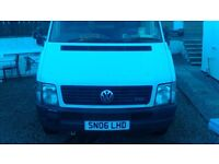 motorhome vw lt 46 ex ambulance not finished but nearly there great van