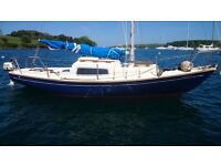 Corribbee 21 Sailing Cruiser. £1600 JUST REDUCED FOR QUICK SALE
