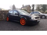 Modified Mk4 golf gt tdi, remapped, coilovers etc