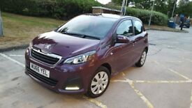 Peugeot 108 Nearly New Not even 1st Service due , Not Yaris Aygo 107 Polo Corsa Pixo Adam Micra 500