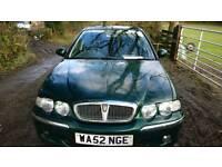 REDUCED Rover 45, 52 Reg, recent MOT