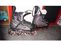Roller blades in very good condition hardly worn.