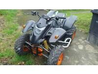 Quad bike 250 cc road legal