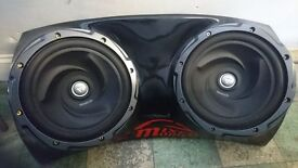 2x 1600 kenwood Subs amp and power cap