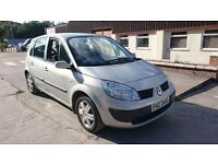 2004 RENAULT MEGANE SCENIC 1.5 Dci Full M.O.T FOR SALE