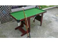 Riley Pool table 4 ft