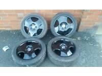 """16"""" Saab alloy wheels"""