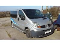 FOR BREAKING 2009 RENAULT TRAFFIC MINI BUS