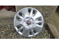 Fiat wheel trims NEW