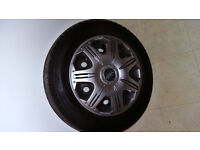 HONDA WHEELS 14 inch AND TYRES 175 x 65 R14 Good tyres wheels, trims Honda Jazz 14inch
