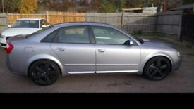 Audi A4 1.8 Turbo S-line Excellent Car- clean inside-out and drives very well.