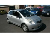 TOYOTA YARIS 2007 NEW SHAPE LOW MILES 59000 FROM NEW £1395 PX WELCOME