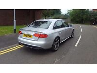 AUDI A4 S LINE BLACK EDITION NAV 84K 61 PLATE TOP CONDITION PERFECT RUNNER WARRANTY IS AVAILABLE