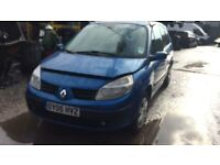 2005 Renault Grand Scenic Exp-sion 16v MPV Blue 1.6L Petrol BREAKING FOR SPARES