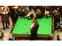 World Snooker Quarter final x 4 tickets