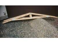 Timber roof Trusses, 2300 mm span