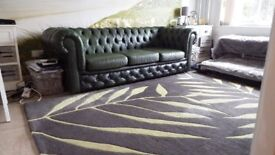 alan ward hand made rug - pure wool