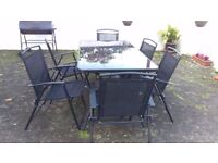 Garden Table & Chairs Set - Comfortable & Stylish Addition To Your Garden!
