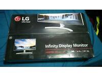 "LG 24MP88HV - S 24"" IPS Infinity Display Monitor (VGA, 2x HDMI, Speakers) 120£"