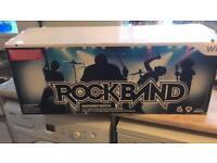 Brand new Rockband & guitar hero for wii