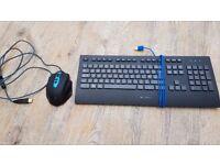 Logitech K290 Comfort Keyboard + Tecknet M009 Mouse