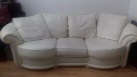 Italian Leather Sofa 3 seater must go this week