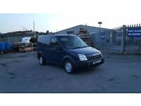 ford transit connect in good condition inside and out with side loading door