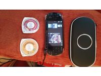 Psp slim with case and games