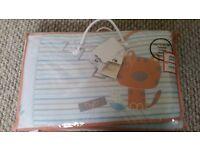 Animal cot bumber set